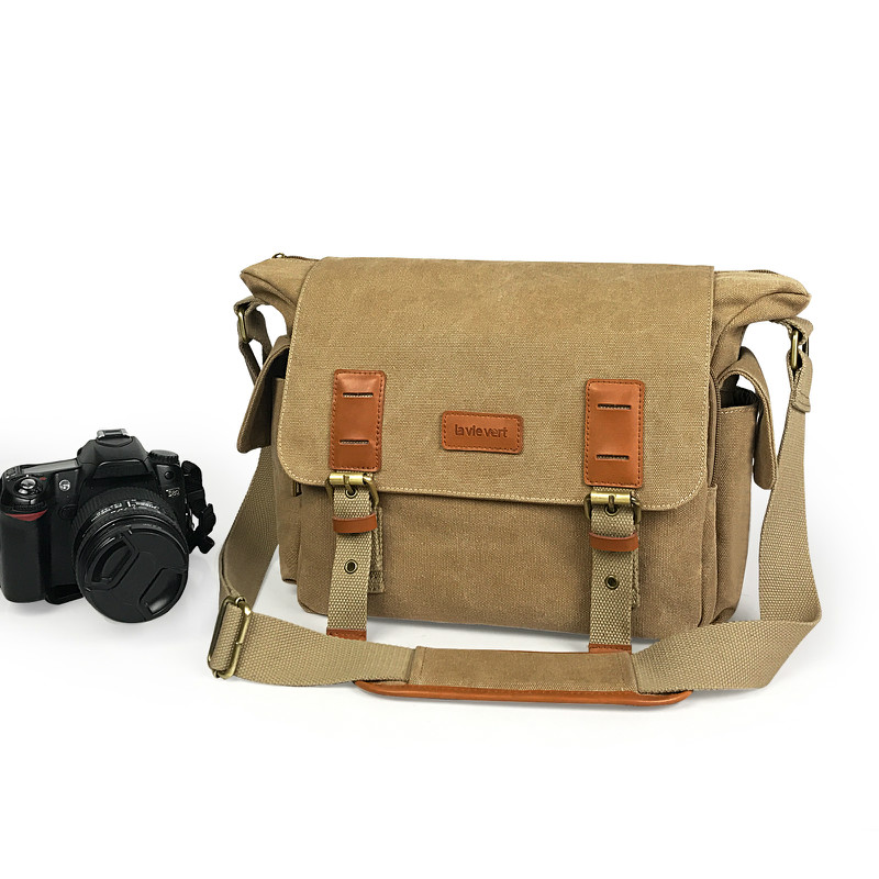 Camera Shoulder Bag - Khaki