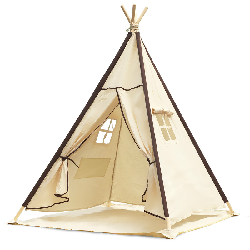 Indian Teepee Children Playhouse Play Tent